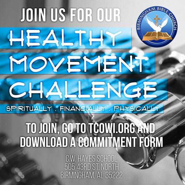 Healthy Movement Challenge