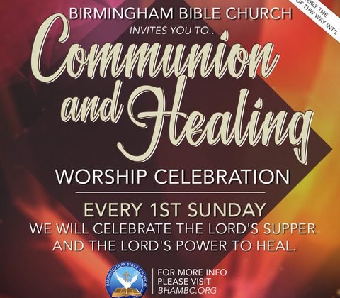 Communion and Healing Service