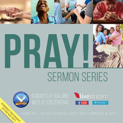 pray! sermon series - birmingham bible church, Powerpoint templates