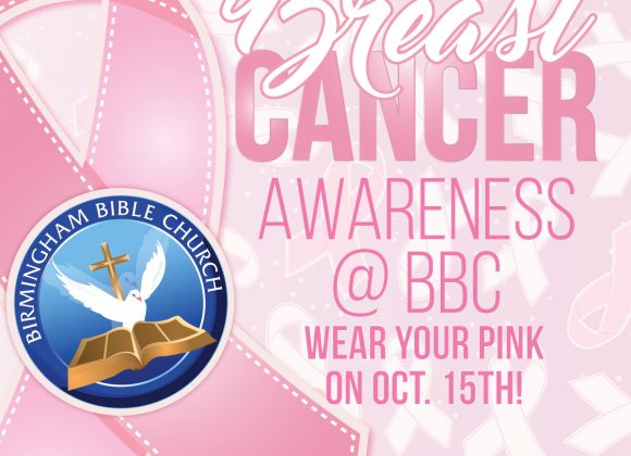 Breast Cancer Awareness – Wear Pink!