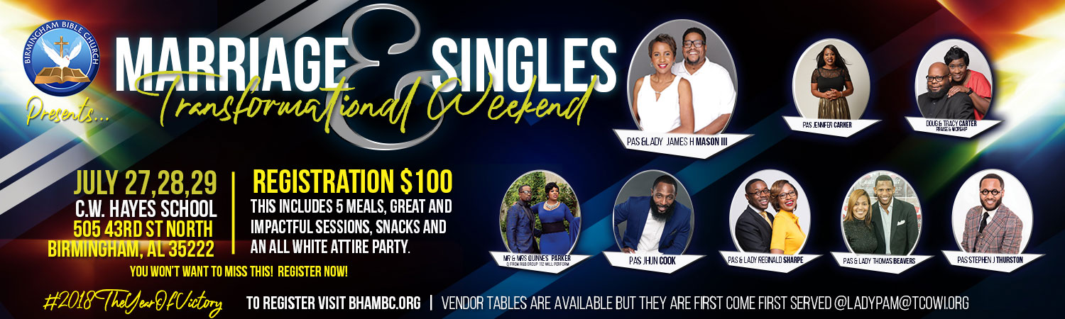 2018 Marriage Singles Conference