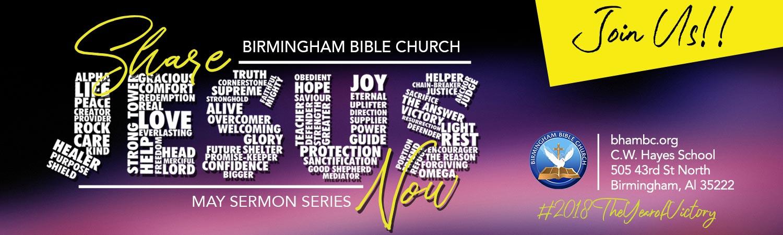 Sermon Series - Share Jesus Now